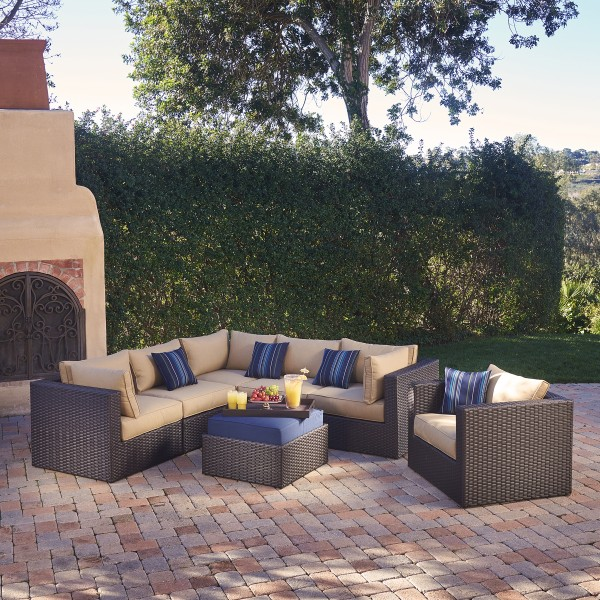 Sumner 7 Piece Modular Seating Set Mission Hills Furniture