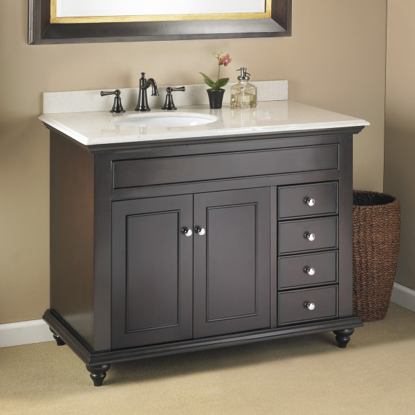 Craftsman And Mission Style Bathroom Vanities Home Design Idea