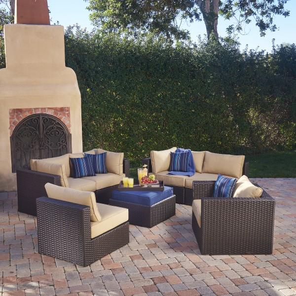 Sumner 7 Piece Modular Seating Set Mission Hills Furniture