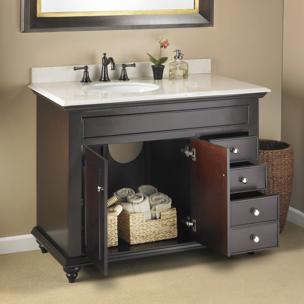 Mayfield 42 Quot Single Sink Vanity Mission Hills Furniture