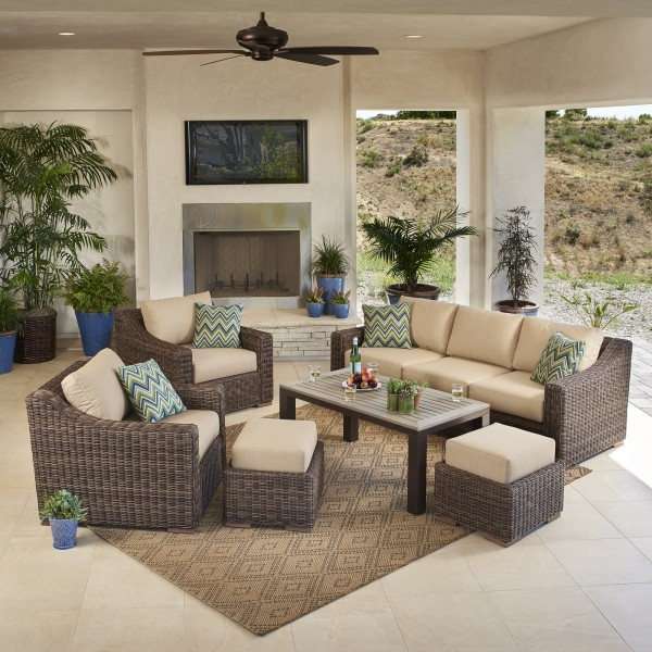 Brandemore 6pc Deep Seating Collection 2016 Mission