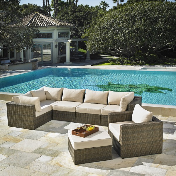 San Clemente 7pc Deep Seating Collection