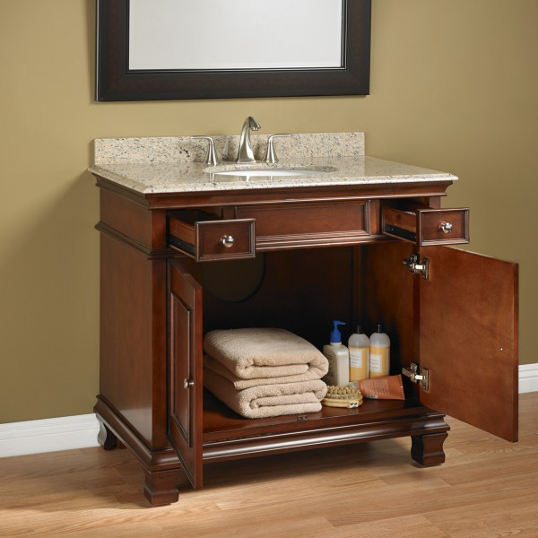 Manhattan 36 Quot Single Sink Vanity Mission Hills Furniture