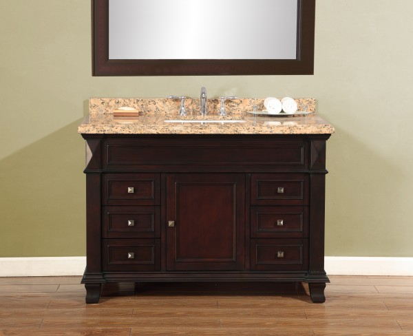 Mason 48 Quot Single Sink Vanity Mission Hills Furniture
