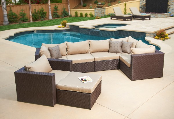 Newport 7pc Deep Seating Collection Mission Hills Furniture