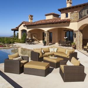 Garden Ridge 4pc Seating Set Mission Hills Furniture