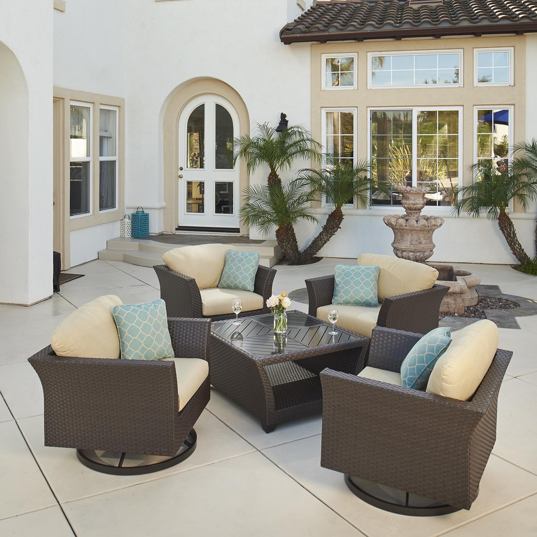 Avalon Bay 27pc Estate Collection Mission Hills Furniture