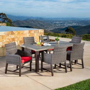 Brandemore 17pc Estate Collection Red Mission Hills