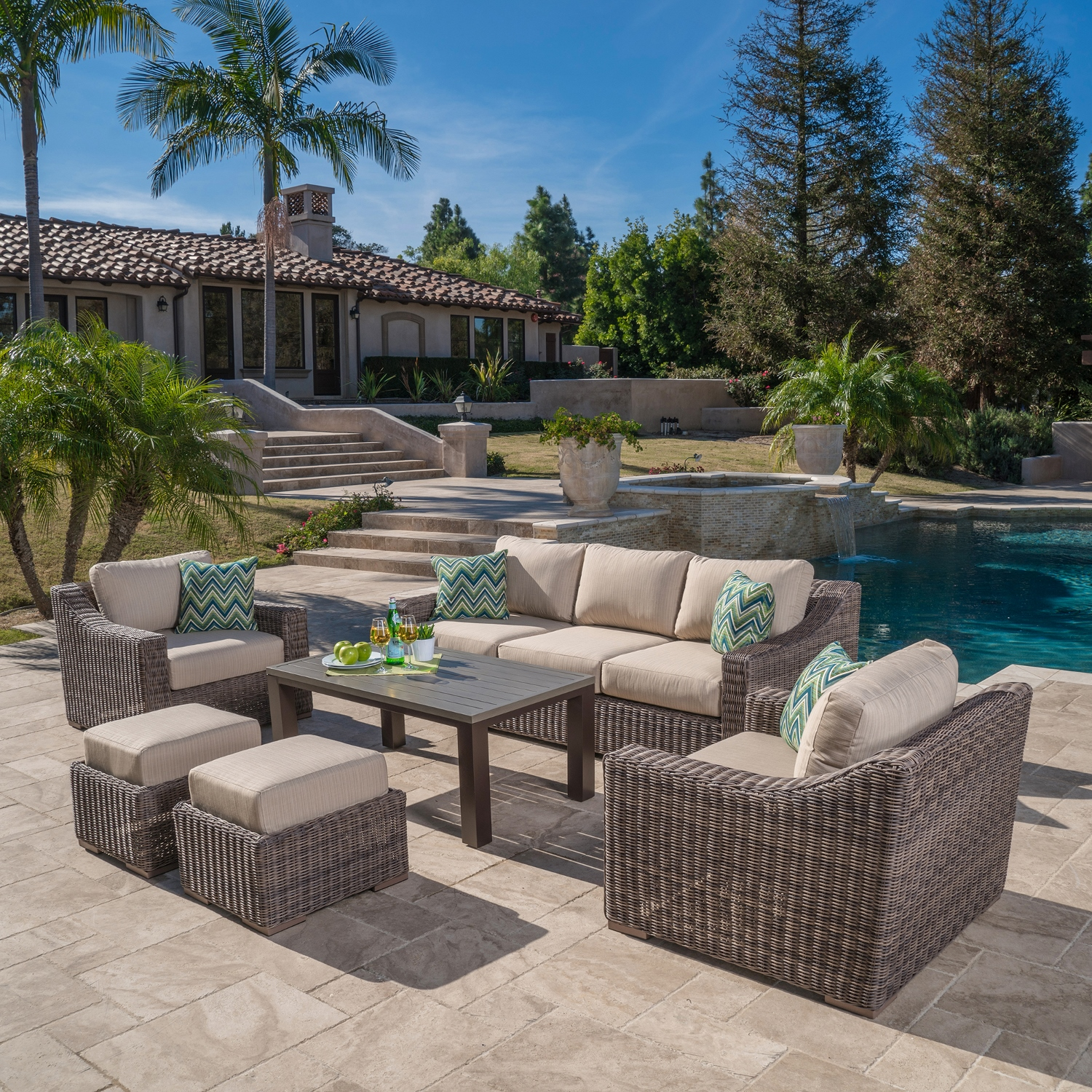 Exceptional Brandemore 6pc Deep Seating Collection
