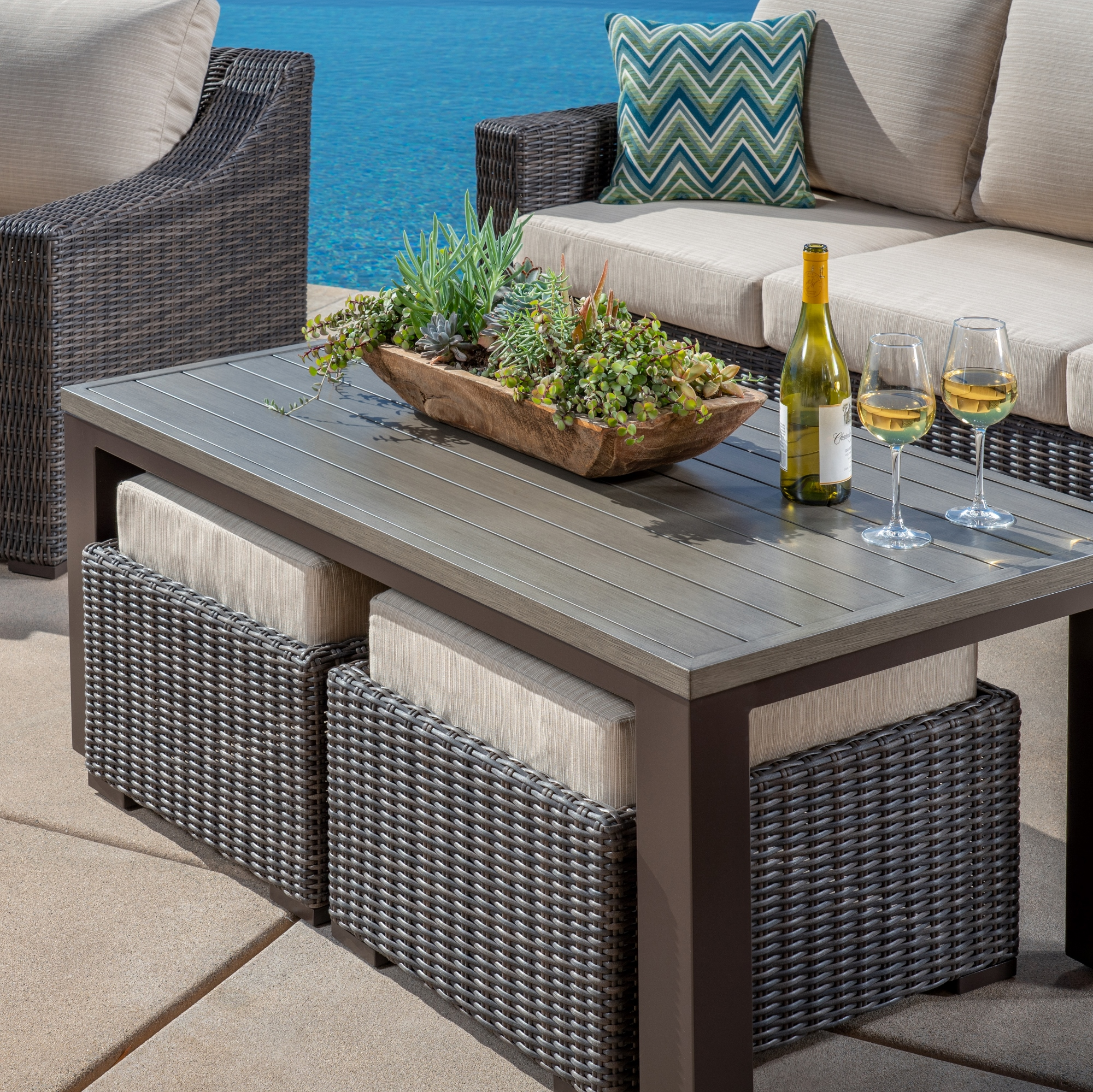Brandemore 6pc Deep Seating Collection Mission Hills