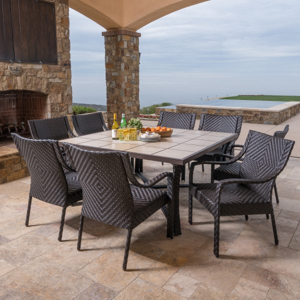 Canyon Park 9pc Dining Collection Mission Hills Furniture