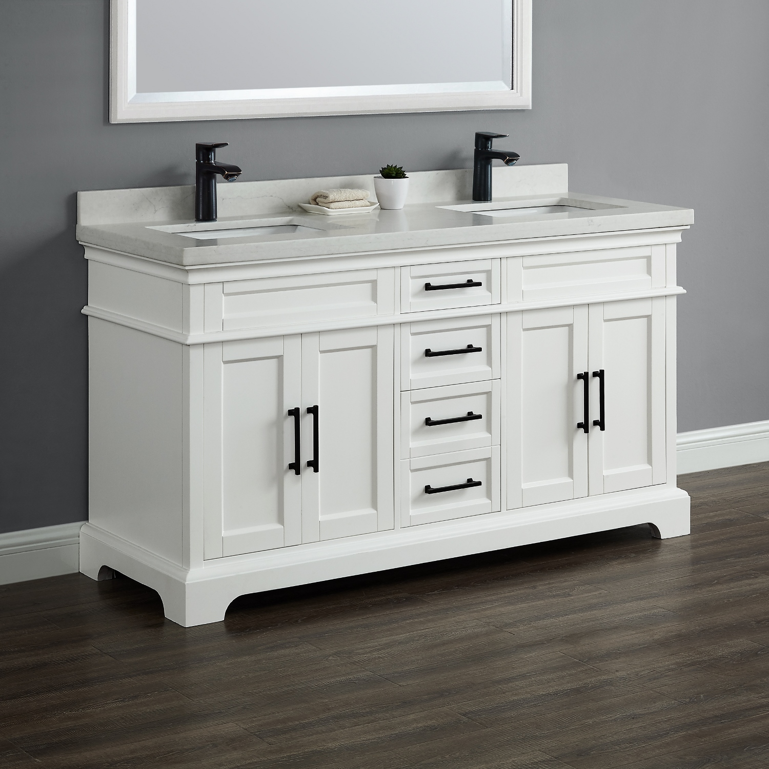 60 Double Sink Vanity IMG 1138 1 1500 Chandler Mission Hills Furniture