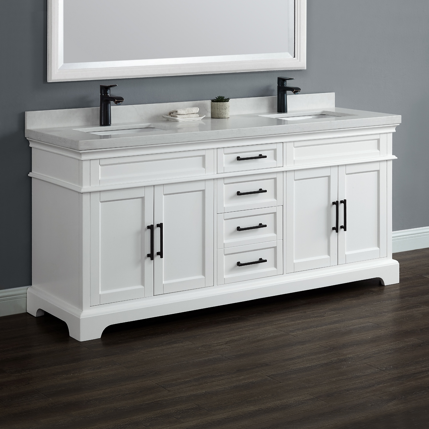 "Chandler 72"" Double Sink Vanity 