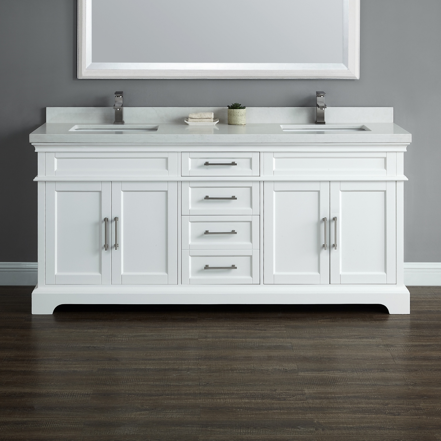 Chandler 72 Quot Double Sink Vanity Mission Hills Furniture