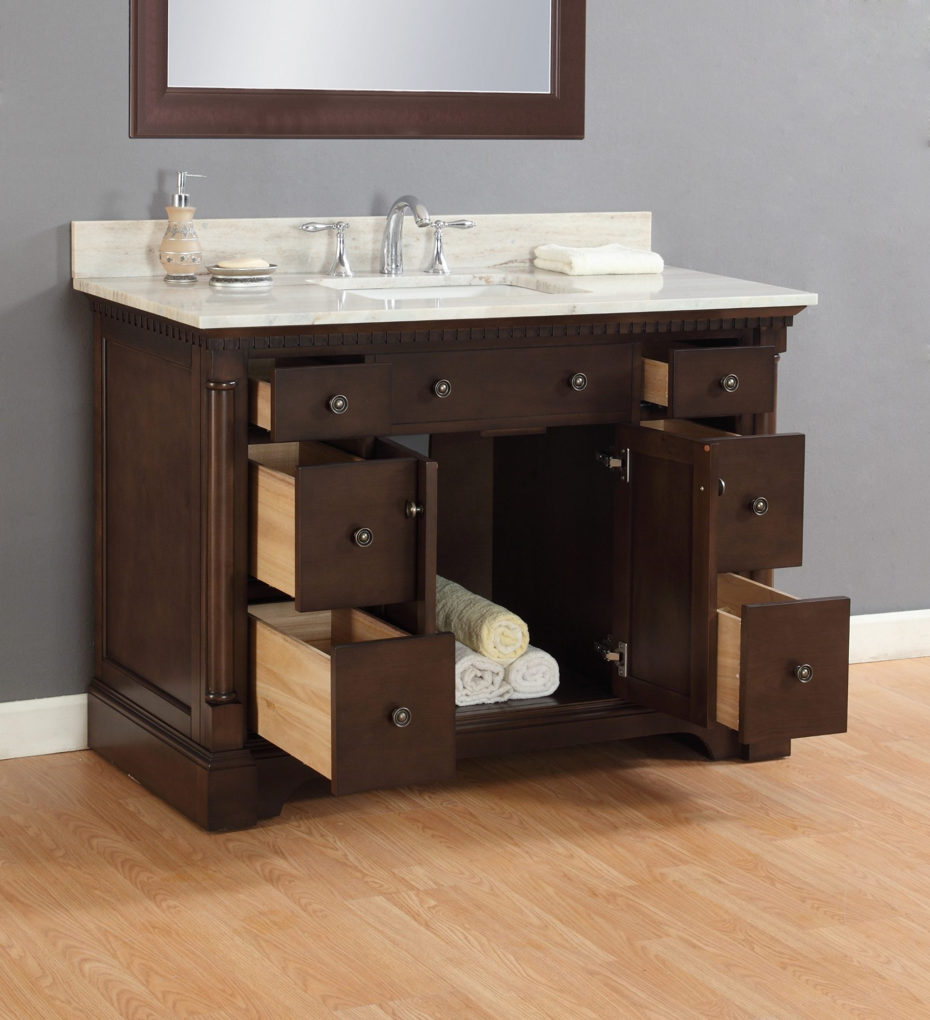 Montclair 48 Quot Single Sink Vanity Mission Hills Furniture
