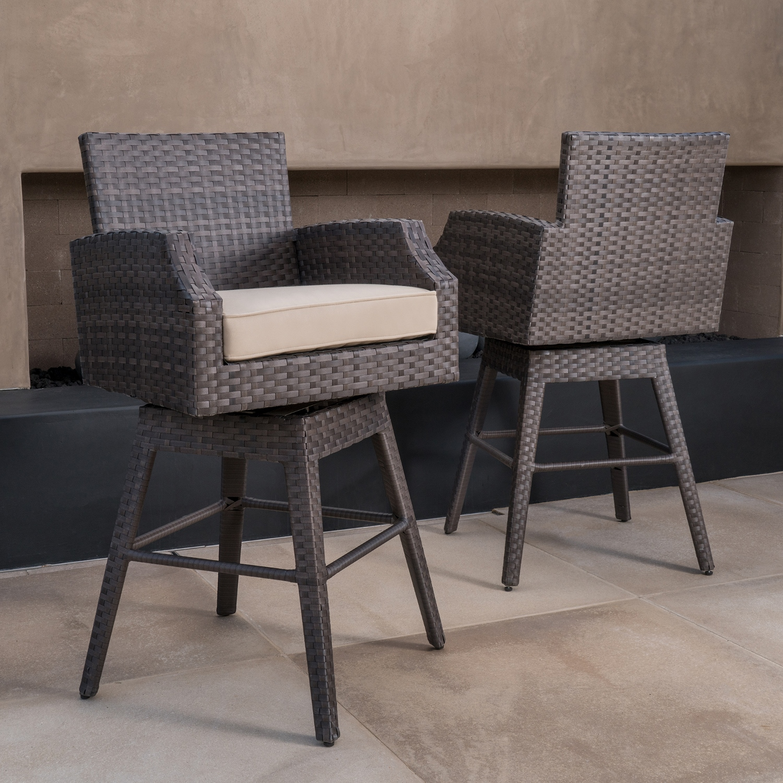 Kingston 2pk swivel barstools mission hills furniture for Furniture kingston