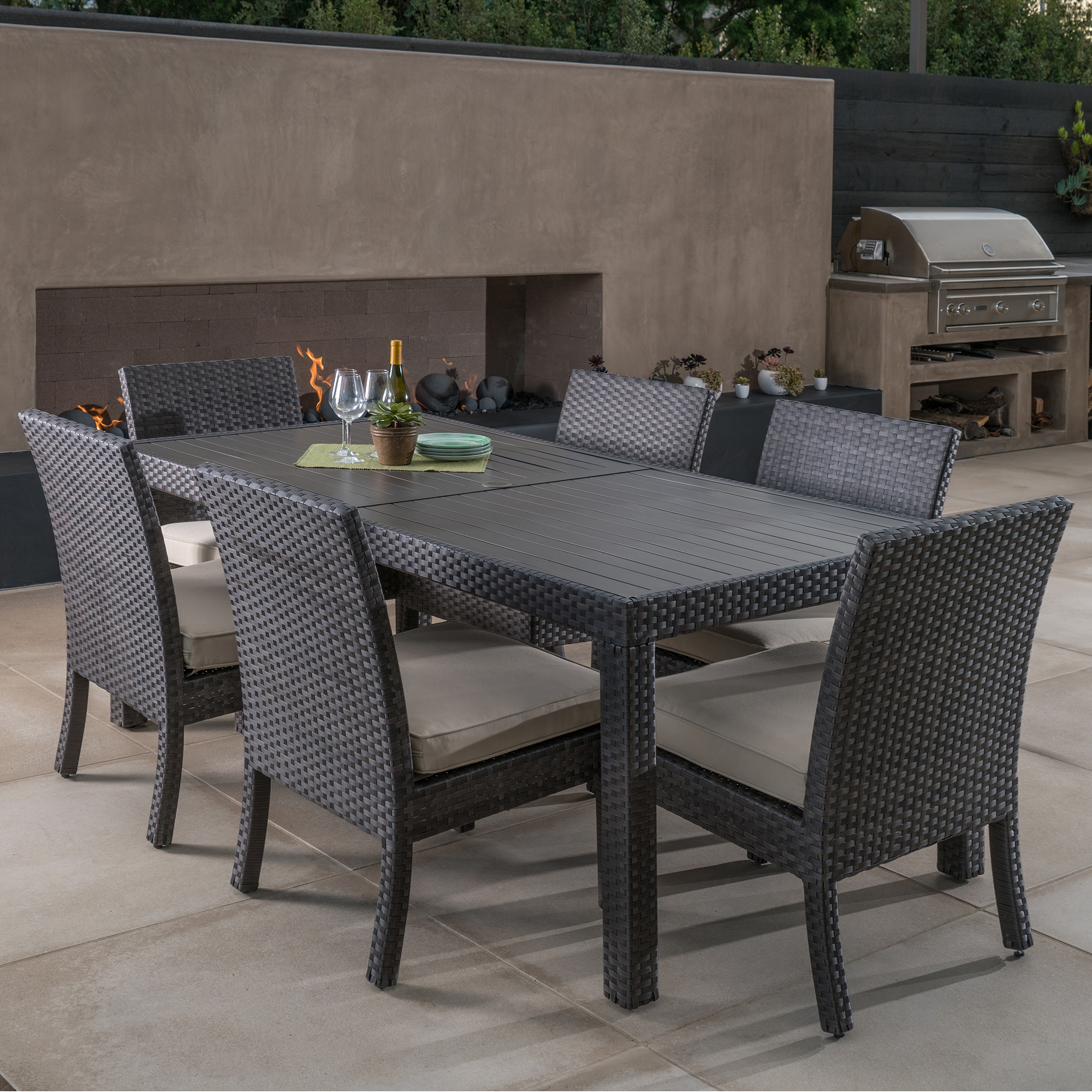 Kingston 7pc Dining Collection Mission Hills Furniture