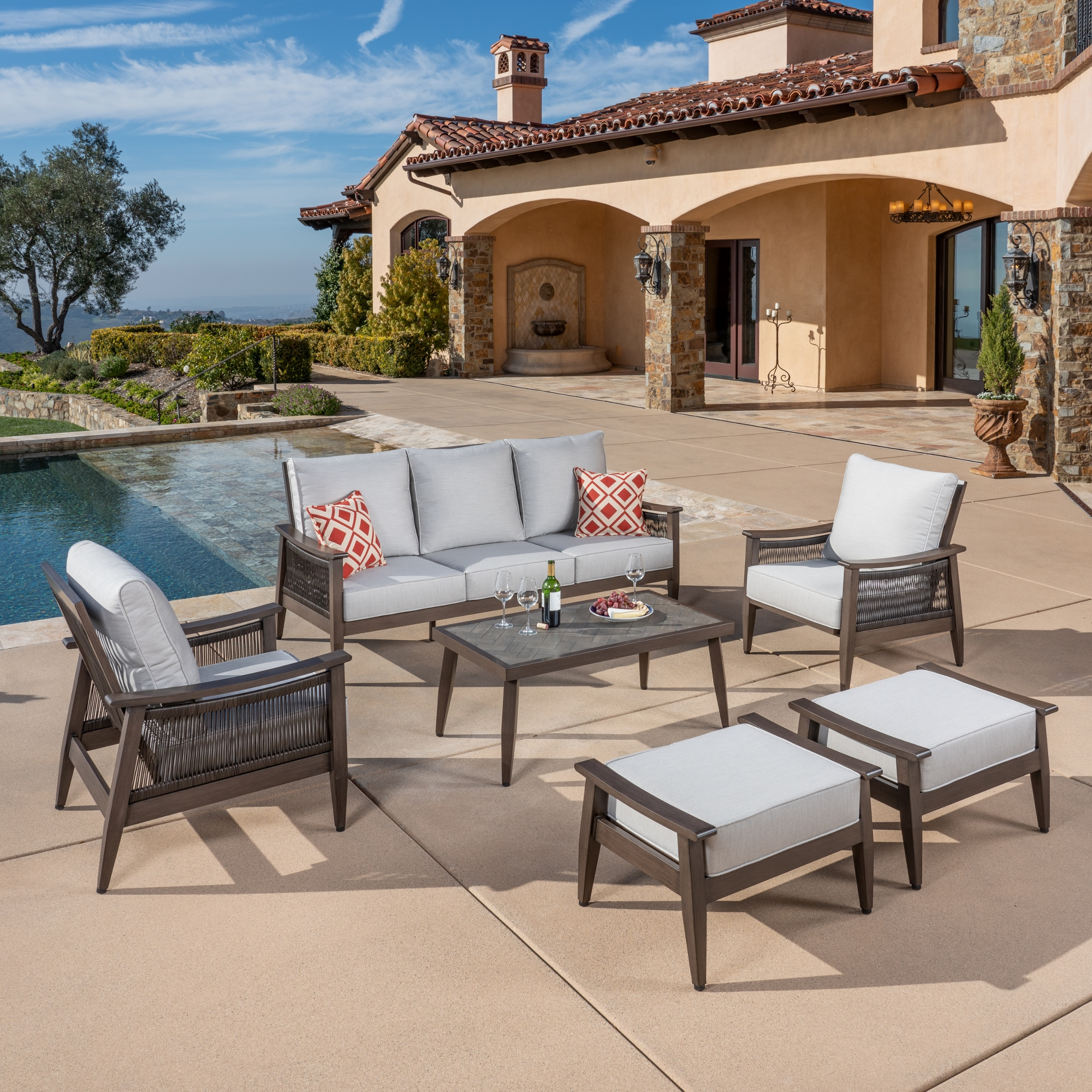 Palomar 6pc Deep Seating Collection