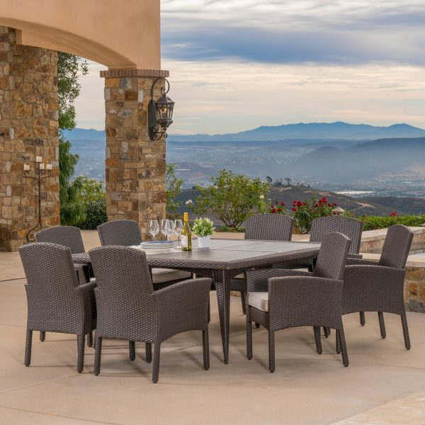 Santa Fe 9pc Dining Collection Mission Hills Furniture