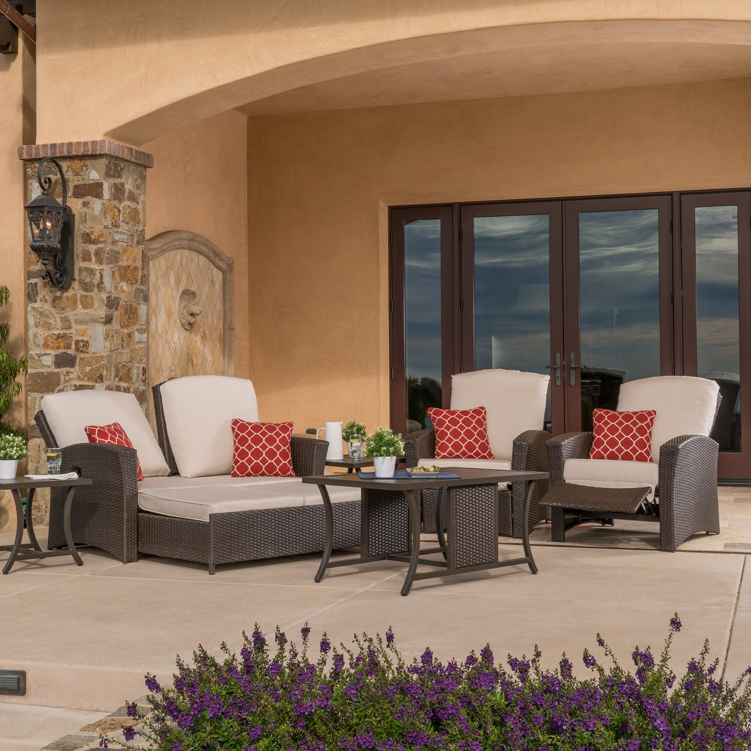 Santa Fe 6pc Deep Seating Collection