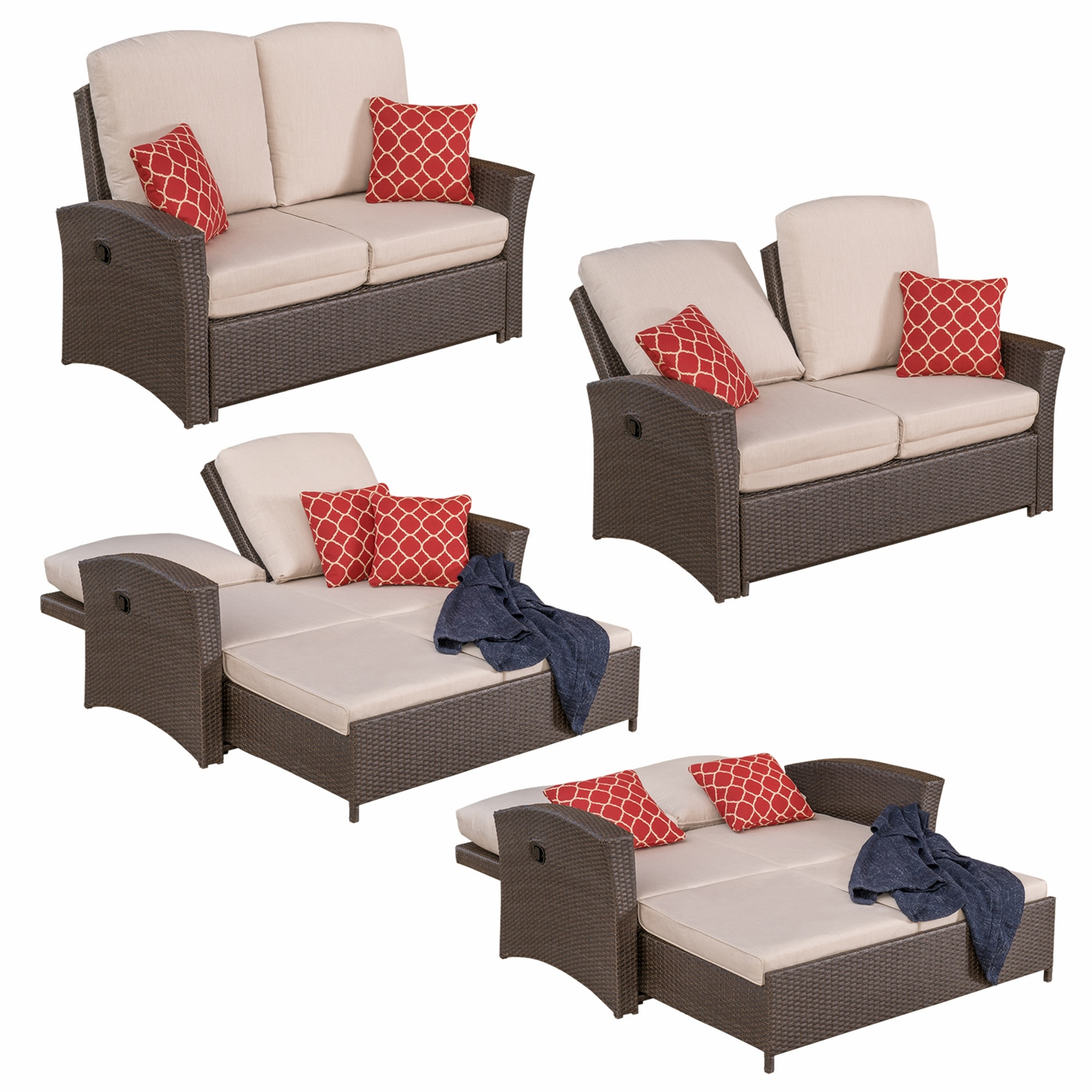 Santa Fe 6pc Deep Seating Collection Mission Hills Furniture