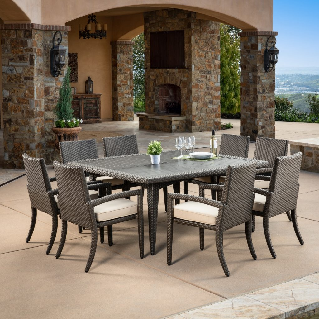 Sidney 9pc Dining Collection Mission Hills Furniture