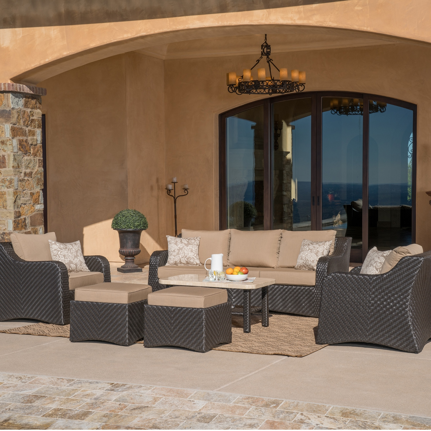 Valencia 6pc Deep Seating Collection Mission Hills Furniture