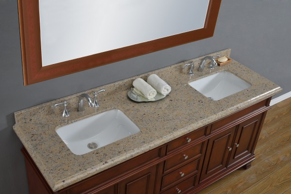 Manchester 72 double sink vanity mission hills furniture - Bathroom vanities nebraska furniture mart ...