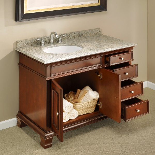 Manhattan 42 Quot Single Sink Vanity Mission Hills Furniture