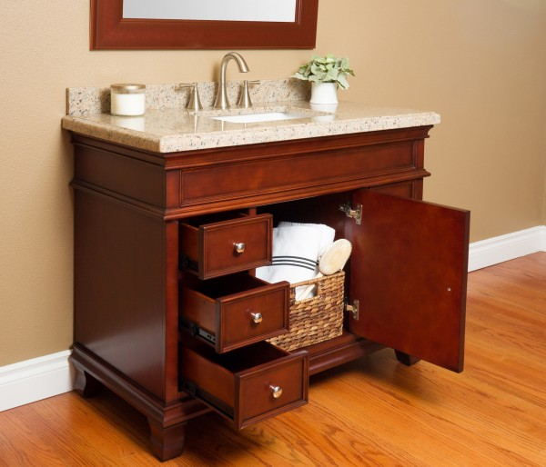 Manchester 42 Quot Single Sink Vanity Mission Hills Furniture