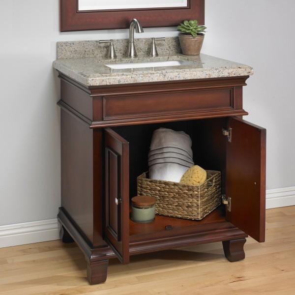 Manchester 28 Quot Single Sink Vanity Mission Hills Furniture
