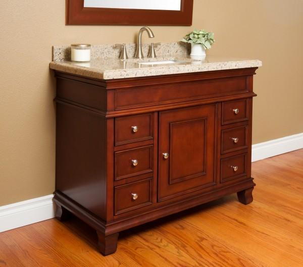 Manchester 42 Quot Single Sink Vanity Mission Hills Furniture
