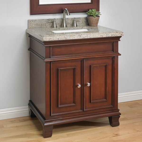Manchester 28 Quot Single Sink Vanity Mission Hills Furniture