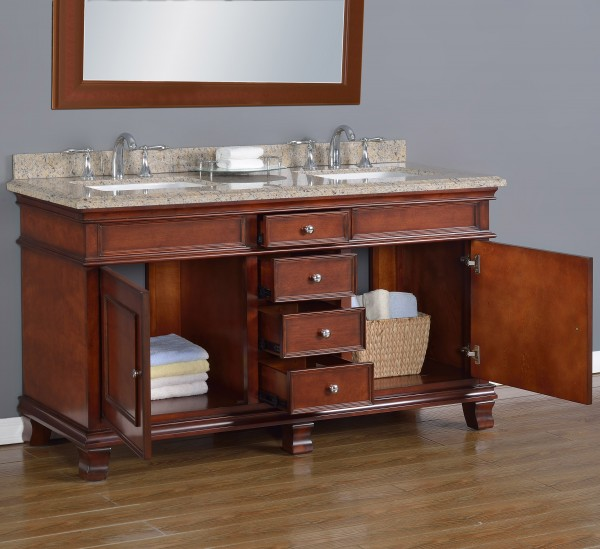 Manchester 60 Quot Double Sink Vanity Mission Hills Furniture