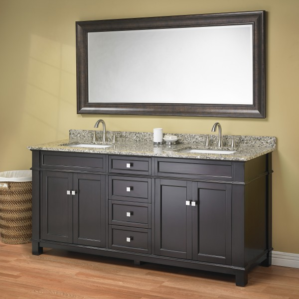 Madison 72 Double Sink Vanity Mission Hills Furniture