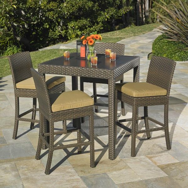 Madrid Bar Height Dining Collection Mission Hills Furniture