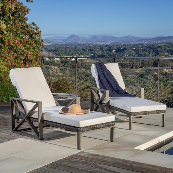 City Heights Chaise Tan 1