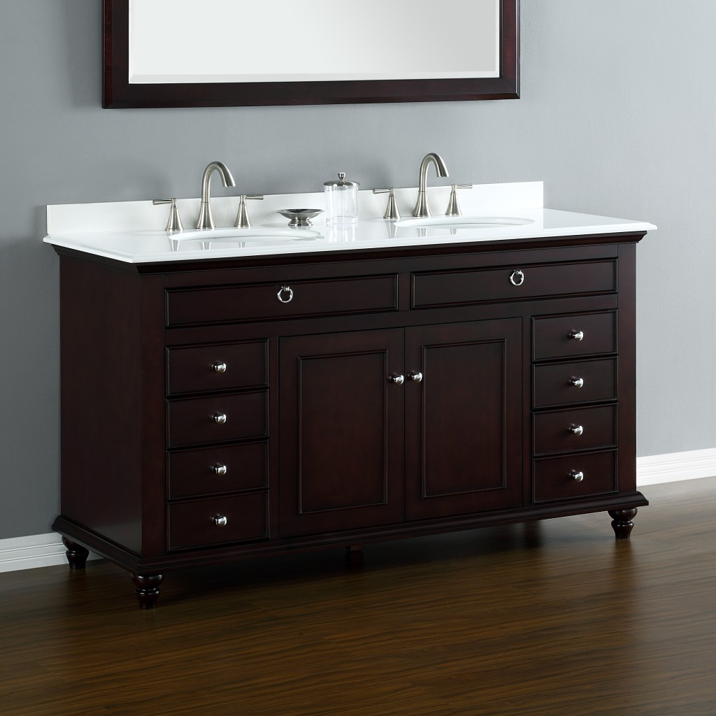 mayfield 60 quot sink vanity mission furniture 24974