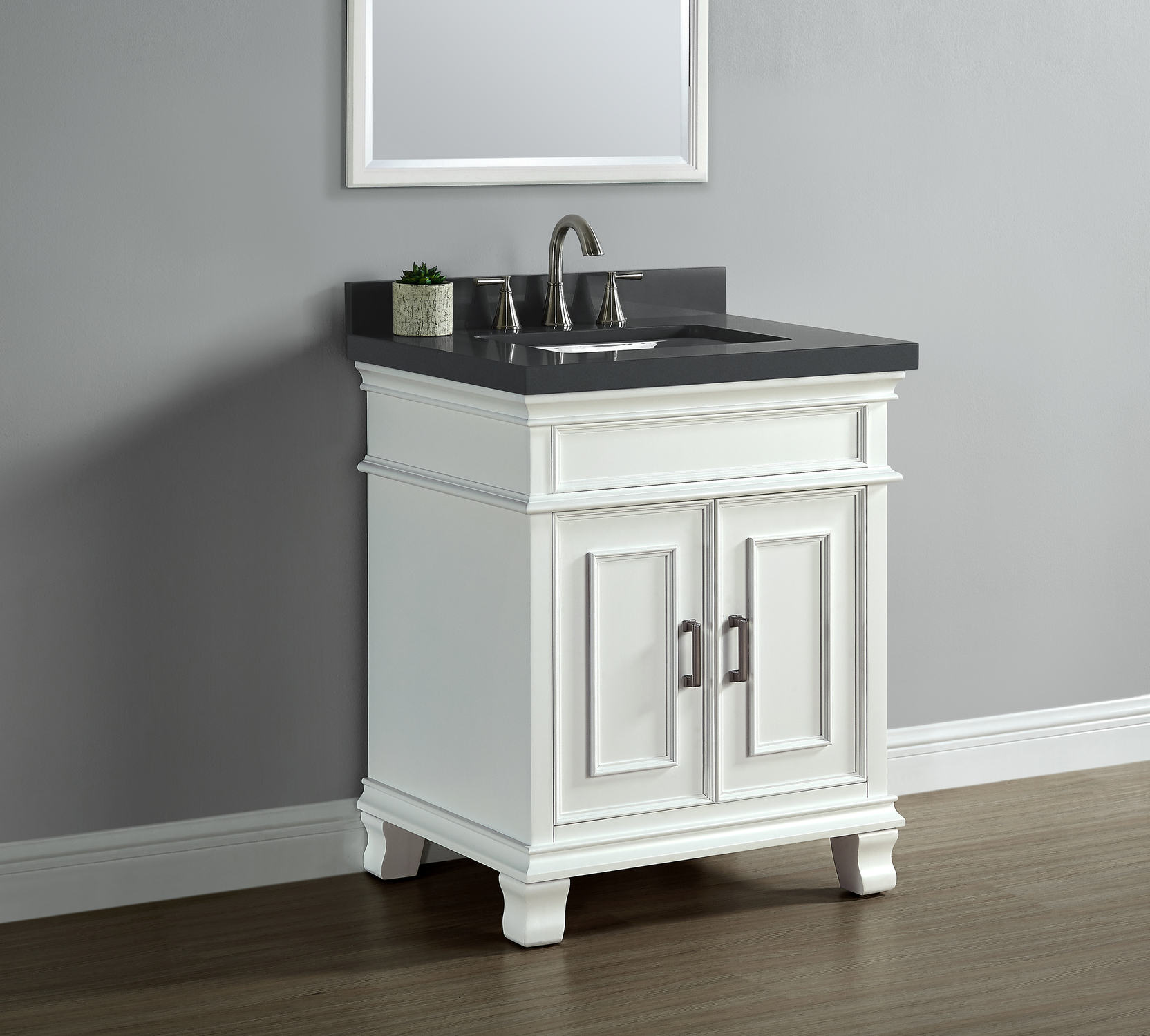 28 inch white bathroom vanity middleton 28 quot single sink vanity white mission 21791