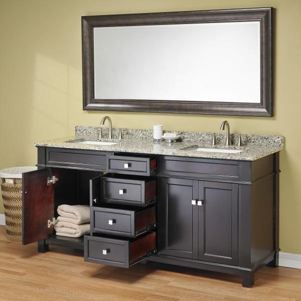 Madison 72 Double Sink Vanity
